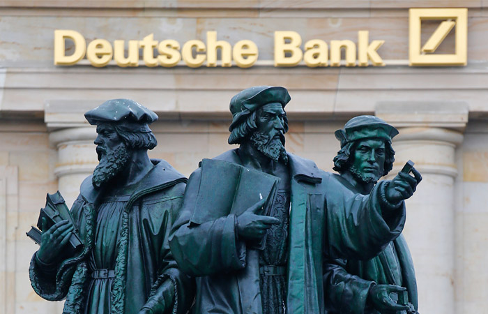 Deutsche Bank оштрафован американцами на 12,5 миллиона долларов