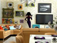 Дизайн-проект квартиры в стиле эклектика: на что обратить внимание