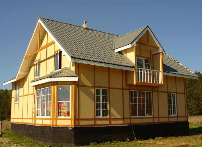 Канадская технология возведения домов