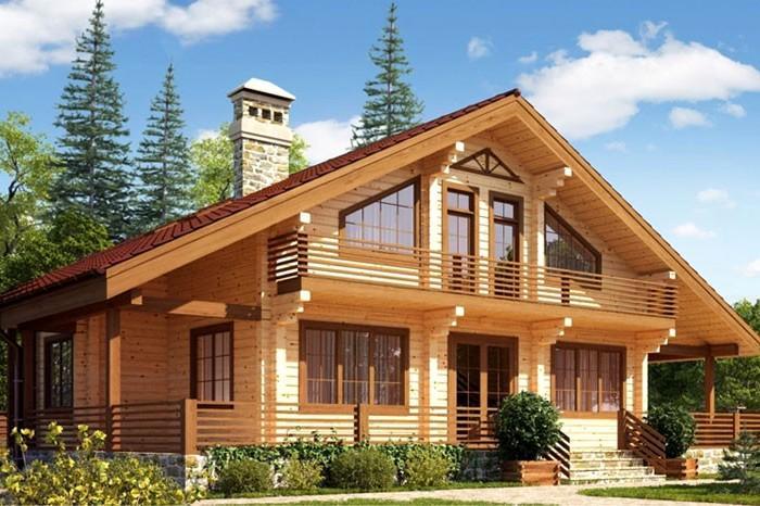 Бизнес идея: строительство домов из бруса