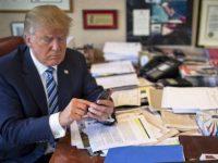 Дональд Трамп использует iPhone, но твиты продолжают приходить с Android телефона