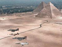 Египет уничтожил конвой с оружием на границе с Ливией
