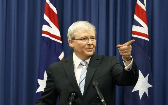 Экс-премьер Кевин Радд рассказал, как он не дал Австралии превратиться в «банановую республику»