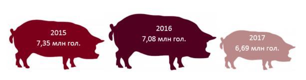 Экспорт украинского сала снизился на 98% из-за действий России и Молдовы