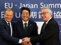 ЕС и Япония успешно завершили переговоры о зоне свободной торговли