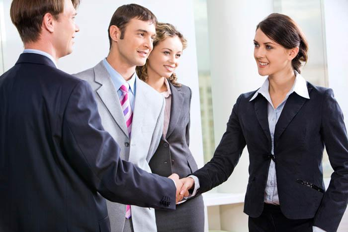 Этикет приветствия в бизнес сфере