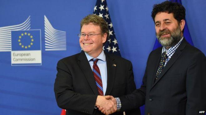 Отчет MEP о торговом соглашении между ЕС и США