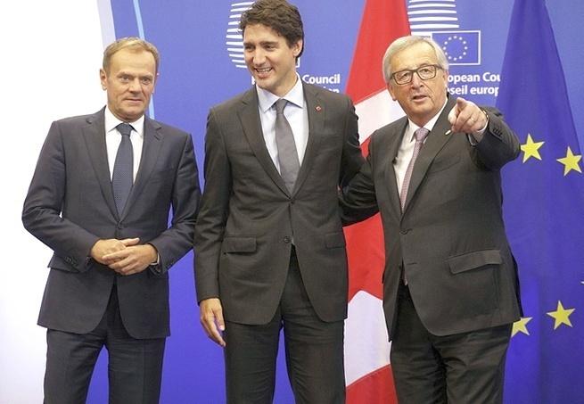 Европейский Союз и Канада подписали соглашение о свободной торговле