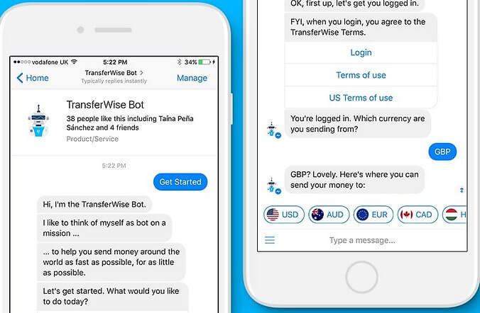 Facebook запускает сервис валютных переводов с TransferWise