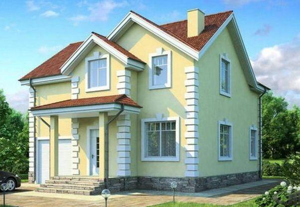 Технология фасадных работ с использованием акриловых красок