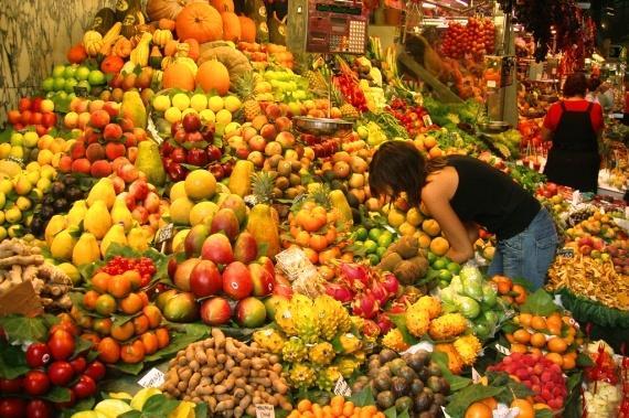 Россия вводит продовольственное эмбарго на турецкие фрукты и овощи