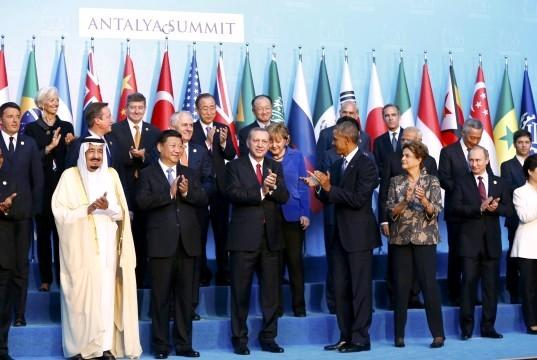 """Лидеры """"Большой двадцатки"""" обговорили способы прекращения финансирования терроризма"""