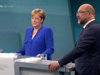 Германия: Меркель победила Шульца на телевизионных дебатах