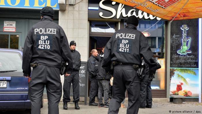 Германия понесла миллиардный ущерб от организованной преступности в 2016 году