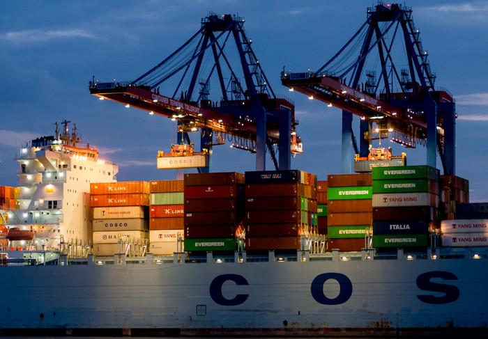 Германия поставила рекорд экспорта в 108,5 млрд евро