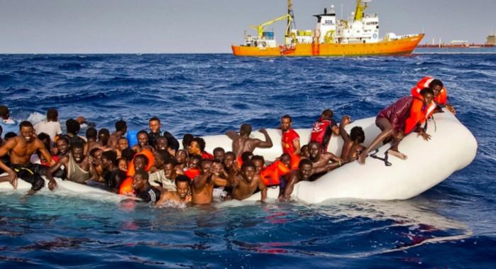 Германия требует перекрыть маршрут мигрантов через Средиземное море