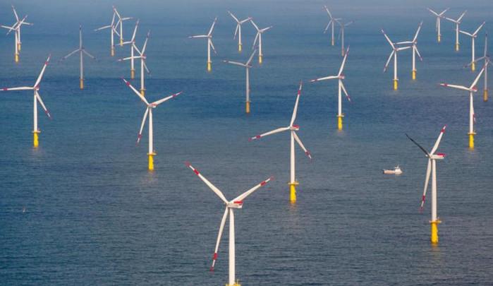 Германия увеличивает количество прибрежных ветряных турбин в Северном море