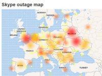 Глобальный сбой наблюдается в Skype