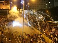 В Гонконге продолжаются митинги. Протестующие требуют расширения демократических прав