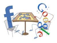 Google и Facebook разделят рынок интернет-рекламы