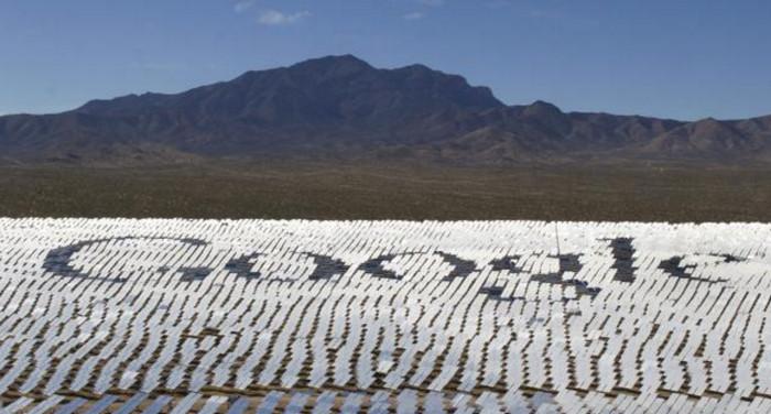 Google переходит на возобновляемые источники энергии