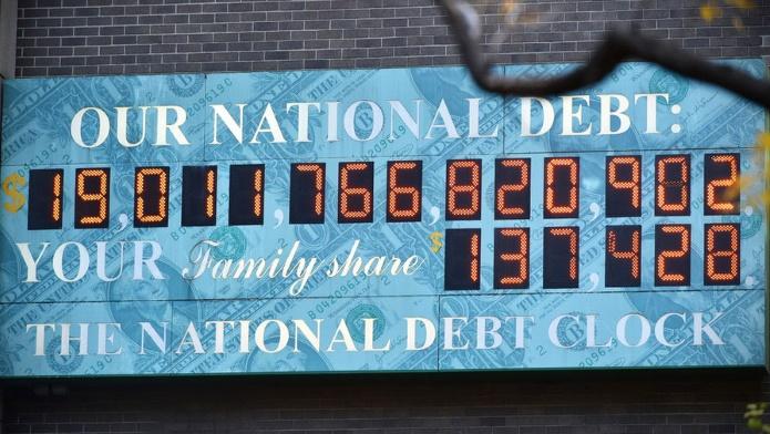 Госдолг США впервые превысил $20 трлн после решения Трампа