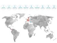 Рейтинг стран с самыми счастливыми рабочими (Universum Global Workforce Happiness Index 2016)