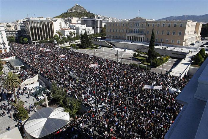 Профсоюз госслужащих Греции ADEDY объявил общенациональную забастовку