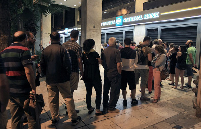 После вынужденных трехнедельных каникул банки Греции заработают 20 июля