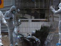 В Афинах возле суда взорвалась бомба (фото, видео)