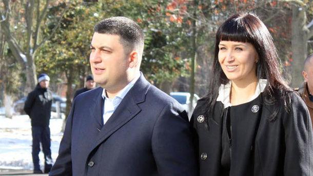 Гройсман продал своей жене недвижимость за 8,8 млн гривен