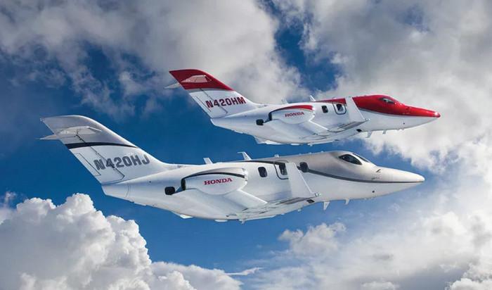 HondaJet впервые занял первое место на рынке малых реактивных самолетов