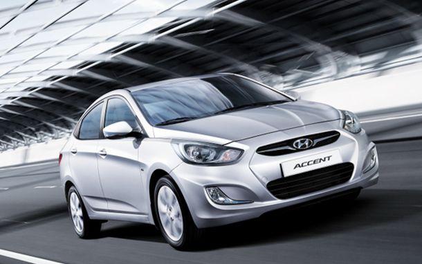 Автоконцерн Hyundai отзывает более 2,5 тысяч автомобилей модели Accent
