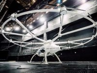В Лас-Вегасе презентовали летающий автомобиль будущего Volocopter