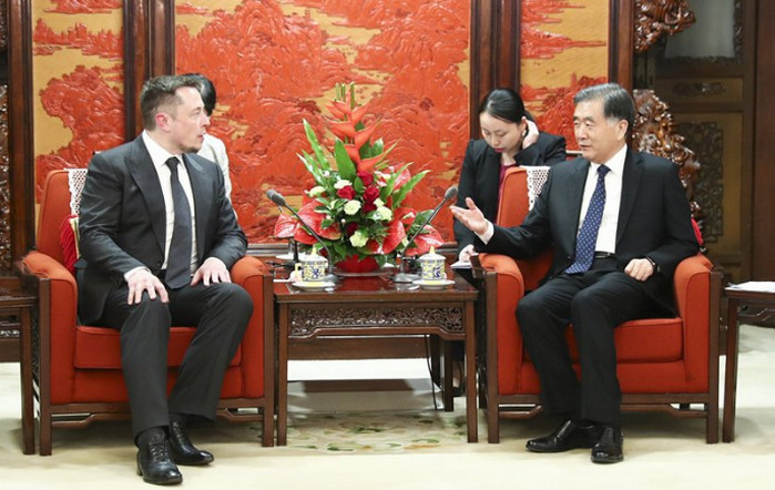 Илон Маск провел тайные переговоры с вице-премьером Китая