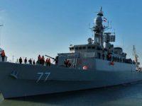Иранский военный корабль потерпел крушение в Каспийском море