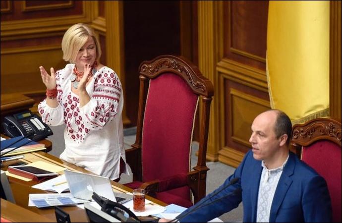 Ирина Геращенко в декабре заработала больше, чем Андрей Парубий