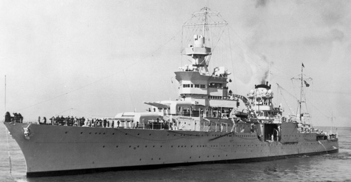Исследователи нашли затонувший в 1945 году американский крейсер USS Indianapolis