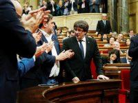 Итоги голосования в Каталонии: провозглашена независимость от Испании и передана резолюция в Мадрид