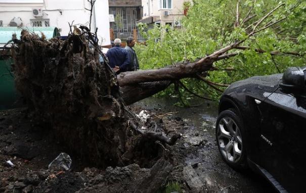 Из-за бури в Украине без света 195 населенных пунктов