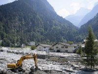 Изменение климата привело к многочисленным оползням в Швейцарии