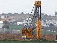 Израиль продолжает строительство подземной стены в Газе