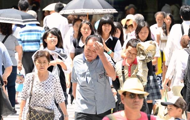 Жара в Японии продолжается: за неделю госпитализированы 880 человек
