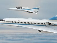 К 2020 году на трансатлантические авиарейсы выйдет сверхзвуковой пассажирский самолет