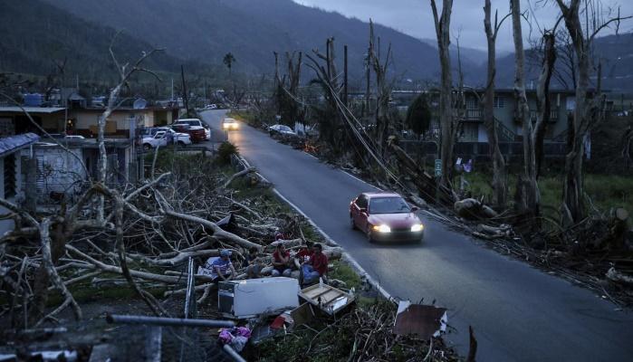 """К трем штатам США движется ураган """"Нейт"""""""
