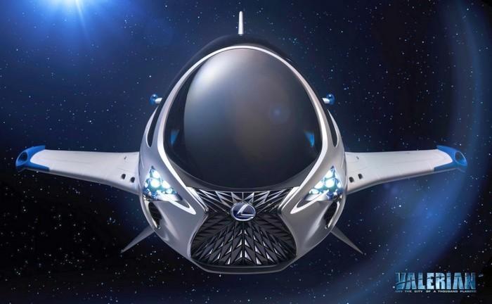 Как будут выглядеть транспортные средства через 700 лет, - версия Lexus