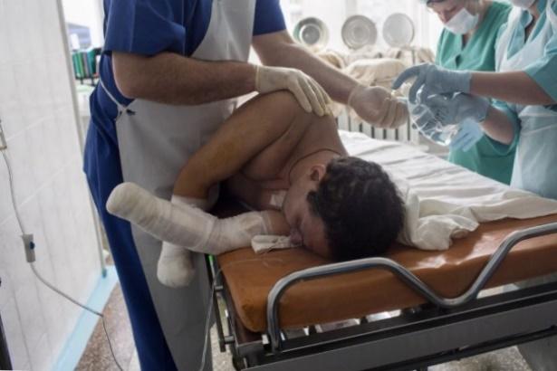 Госпиталь, лечение, военный, военнослужащий, больница, ранение, болезнь, контузия, учреждение, здравоохранение