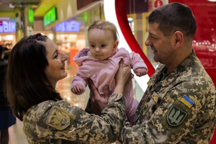 Військовий, відпустка, ЗСУ, декрет, жінка, військовий