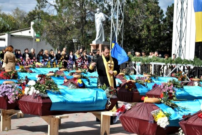 Какую помощь выдают для похорон участника АТО (ООС)?