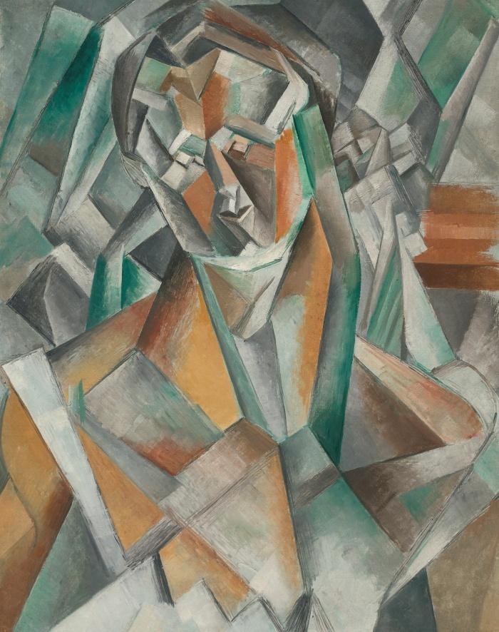 "Картина Пикассо ""Сидящая женщина"" продана на аукционе Sotheby's за рекордную сумму"